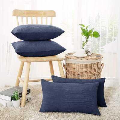 Cayser Rectangular Velvet Pillow Cover - Wayfair