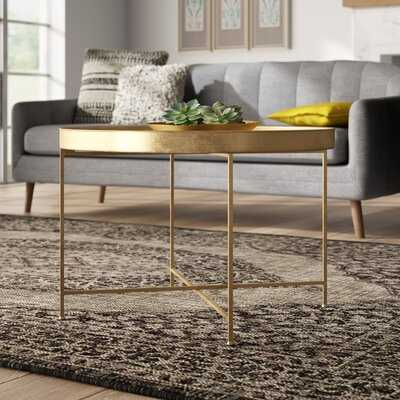 Tiara Lift Top Cross Legs Coffee Table - Wayfair