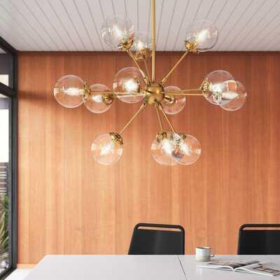 Brett 12-Light Sputnik Sphere Chandelier - AllModern
