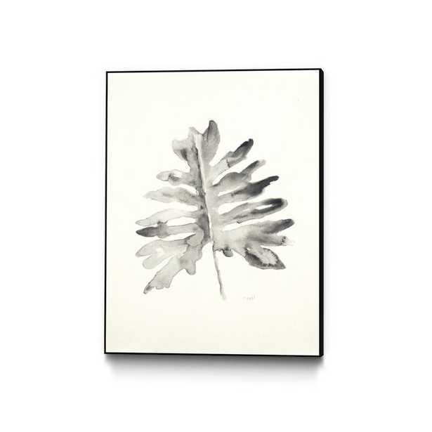 "'Black and White Palm II' Framed Print Size: 14"" H x 11"" W - Perigold"