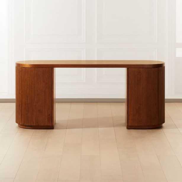 Reid Oval Desk - CB2