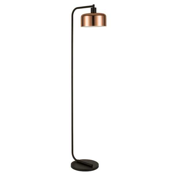 Hudson&Canal Cadmus 57 in. Copper Floor Lamp - Home Depot