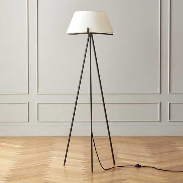 Ornado Black Floor Lamp - CB2