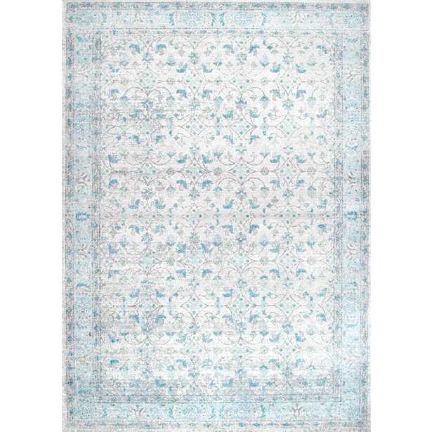 Vintage Lindy Blue Rug / 9'x12' - Home Depot