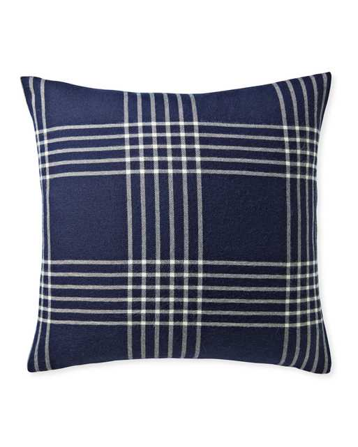 Blakely Plaid Pillow Cover - Serena and Lily