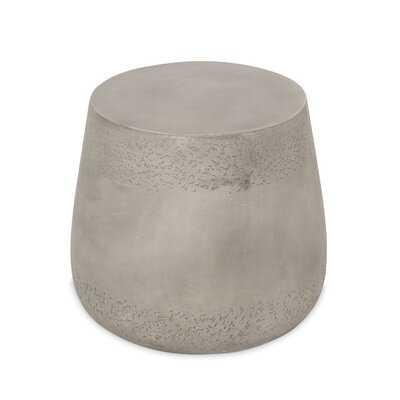 Stone/Concrete Side Table - Wayfair