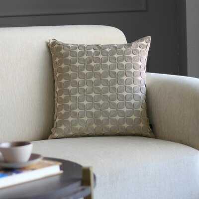 Dahlia Leaf Square Pillow Cover - Wayfair