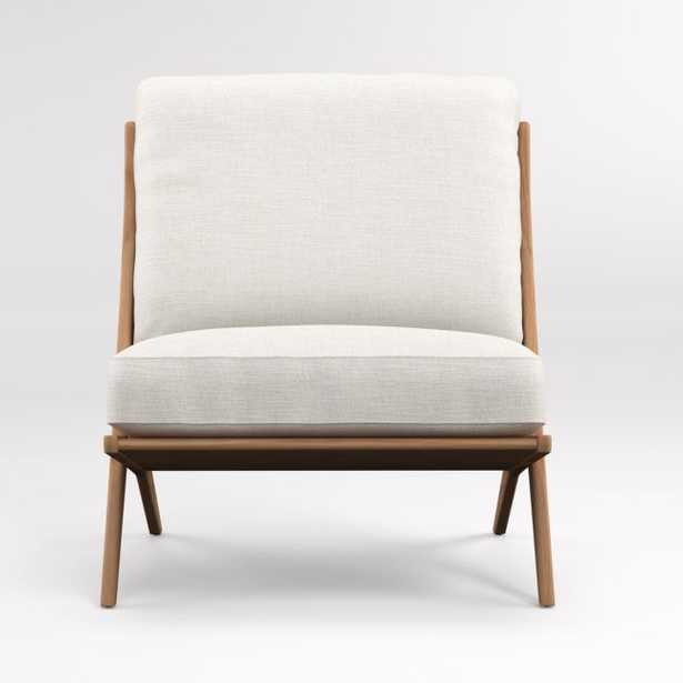 Pose Natural Accent Chair - Crate and Barrel