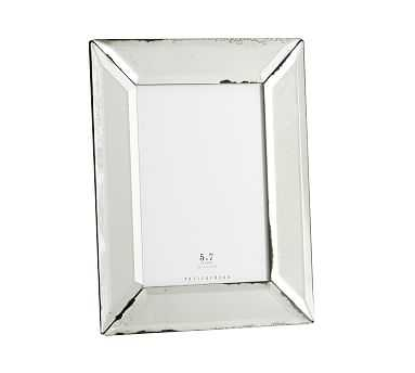"""Antiqued Mirrored Picture Frame, 5"""" x 7"""" - Pottery Barn"""