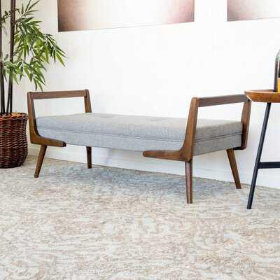 Graeme Mid Century Modern Bench - Wayfair