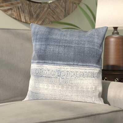 "Stalbridge Cotton Geometric 20"" Throw Pillow Cover - Birch Lane"