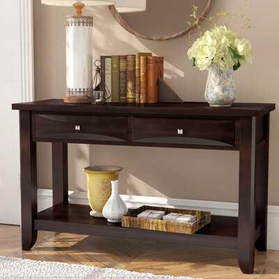 "Kirklin 48"" Solid Wood Console Table - Wayfair"