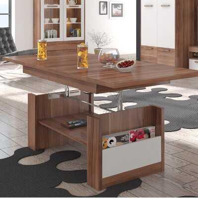 Columbia Adjustable Coffee Table - Wayfair
