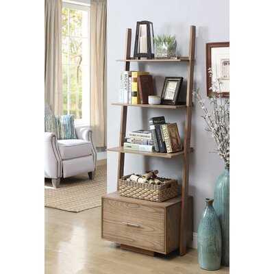 Carlucci 69'' H x 24.75'' W Ladder Bookcase - Wayfair