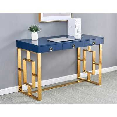 Shawndell Lacquer Desk - Wayfair