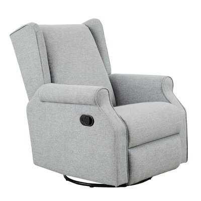 Grey Recliner Armchair With Footrest Adjustable Reclining Sofa For Bedroom & Living Room - Wayfair