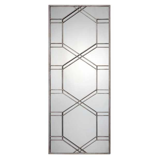 Kennis Silver Leaner Mirror - Hudsonhill Foundry