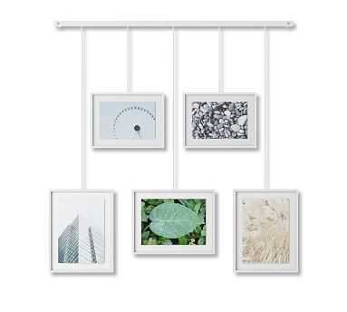 Hanging White Gallery Frames, Set of 5 - Pottery Barn