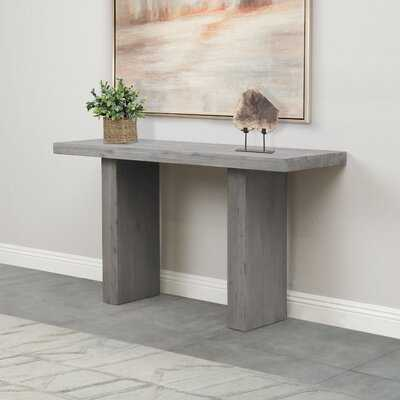 """Brunette 54"""" Solid Wood Console Table - Wayfair"""