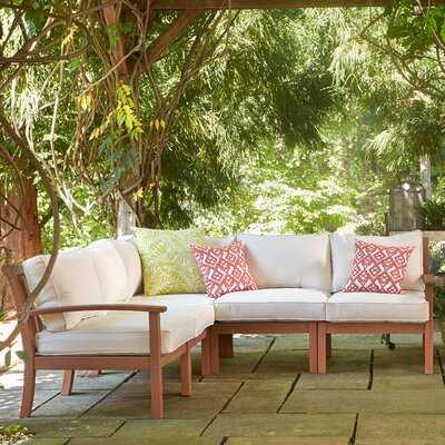 Rossi Patio Sectional with Cushions - Birch Lane