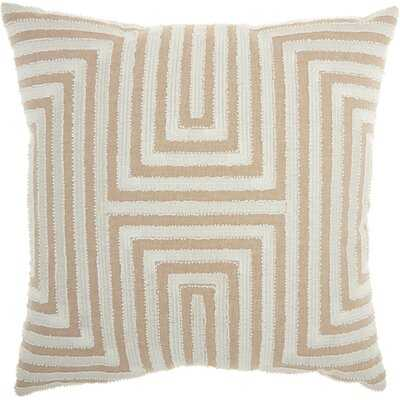 Jord Cotton Geometric Throw Pillow - AllModern