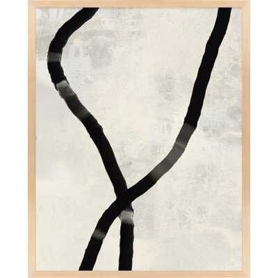 Black Rope 5 by Jacques Pilon - Picture Frame Print on Paper - Wayfair