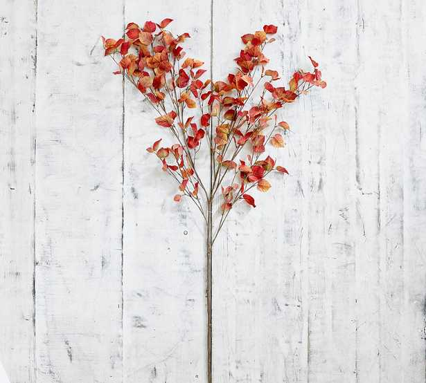 Faux Turning Leaf Branch, Multi - Pottery Barn