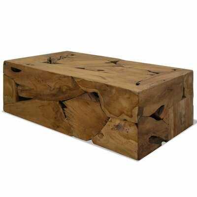 Caitlin Solid Wood Block Coffee Table - Wayfair