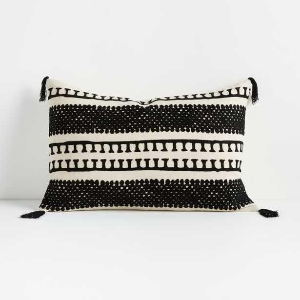 "Ira Pillow 16""x24"" - Crate and Barrel"