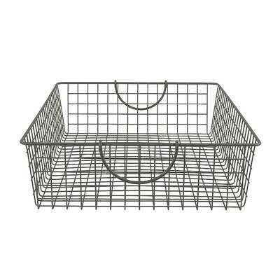 Stowaway Metal Basket - Wayfair