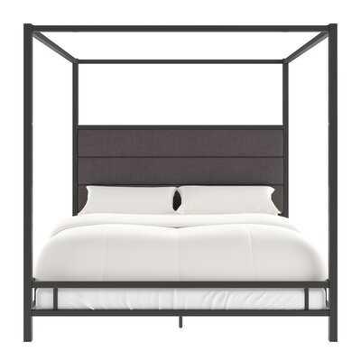Bartlby Upholstered Canopy Bed - Wayfair