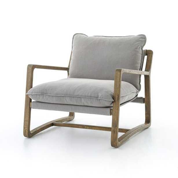 Four Hands Ace Armchair Fabric: Gray - Perigold