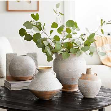 Rustic Ceramic Vases, Set of 4 - West Elm