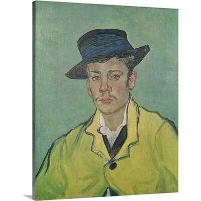'Portrait of Armand Roulin, 1888' by Vincent Van Gogh Painting Print - Wayfair