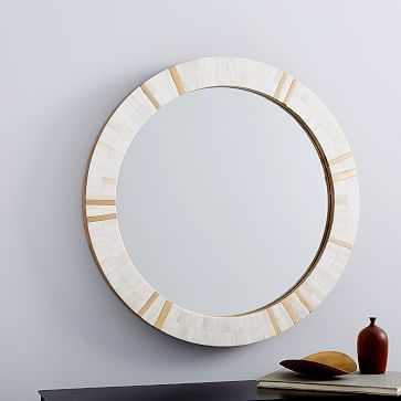 Brass + Bone Rays Wall Mirror - West Elm