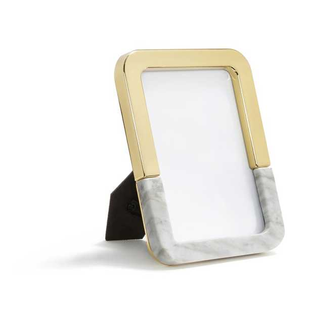 ANNA New York Dual Picture Frame Color: Gold - Perigold