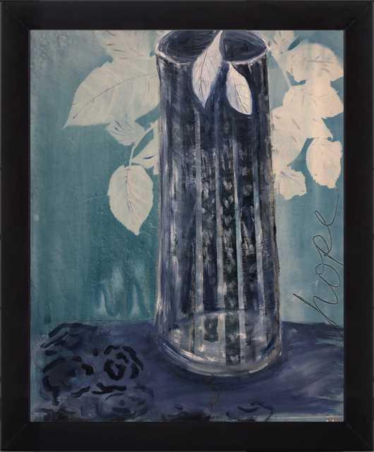 The Empty Vase by Renee A Ortiz for Artfully Walls - Artfully Walls