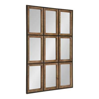 Gallitto Windowpane Beveled Wall Mirror - Wayfair