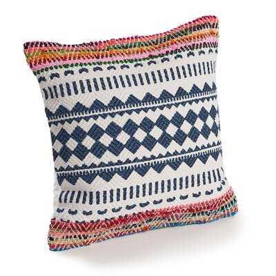 Kimberley Boho Chevron Cotton Throw Pillow - Wayfair