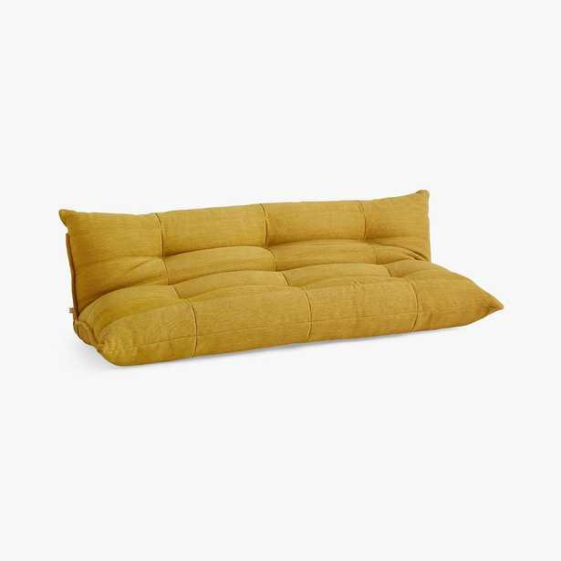 Flip Floor Sleeper, Basket Slub Dark Horseradish/Yellow, MTO - Pottery Barn Teen