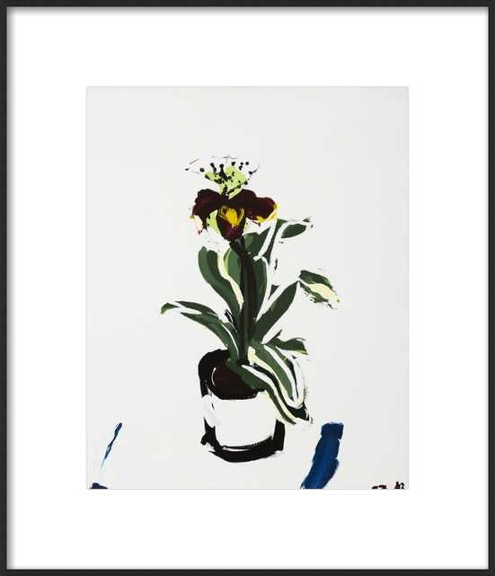 An Orchid  by Daniela Orlev for Artfully Walls - Artfully Walls