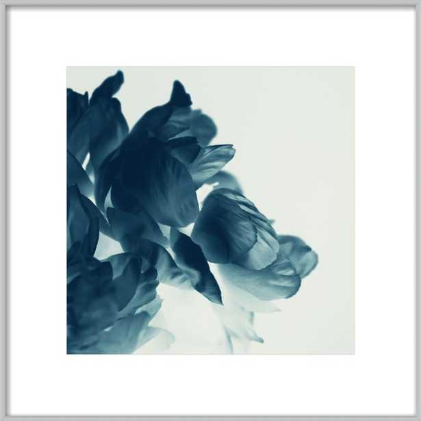 Blue Paeonia #6 by Alicia Bock for Artfully Walls - Artfully Walls