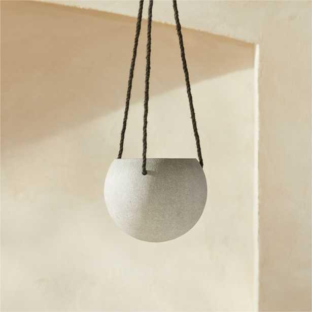 Orb Small Hanging Planter - CB2