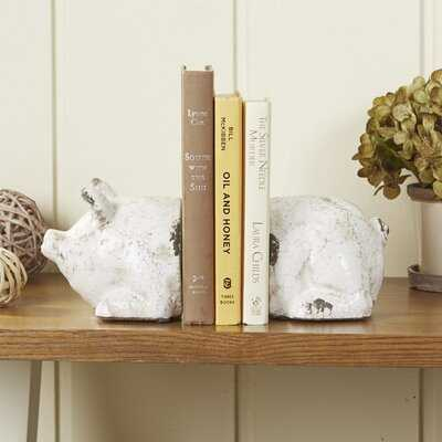 Spotted Pig Bookends - Birch Lane