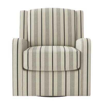 Lee-Robinson Swivel Armchair - Wayfair