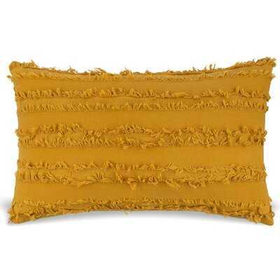 Garvey Cotton Lumbar Pillow - Wayfair
