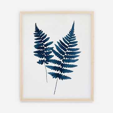 "Living Pattern You + Me Print, 16""x20"", Natural Frame - West Elm"