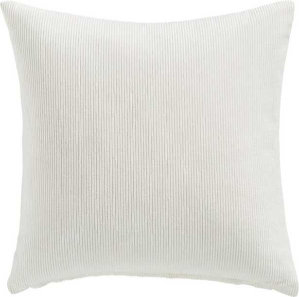 """20"""" Anywhere Pillow with Down-Alternative Insert - CB2"""