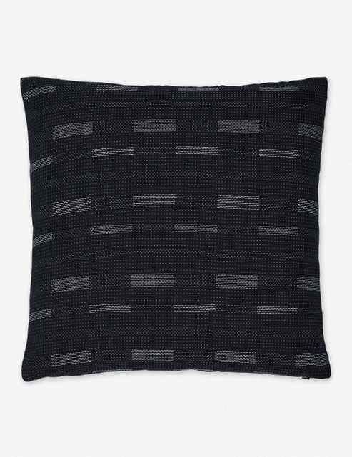 Kimora Pillow, Black - Lulu and Georgia