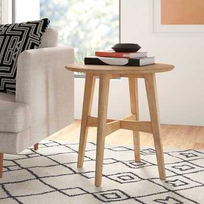 Conrad End Table, Light Oak - AllModern